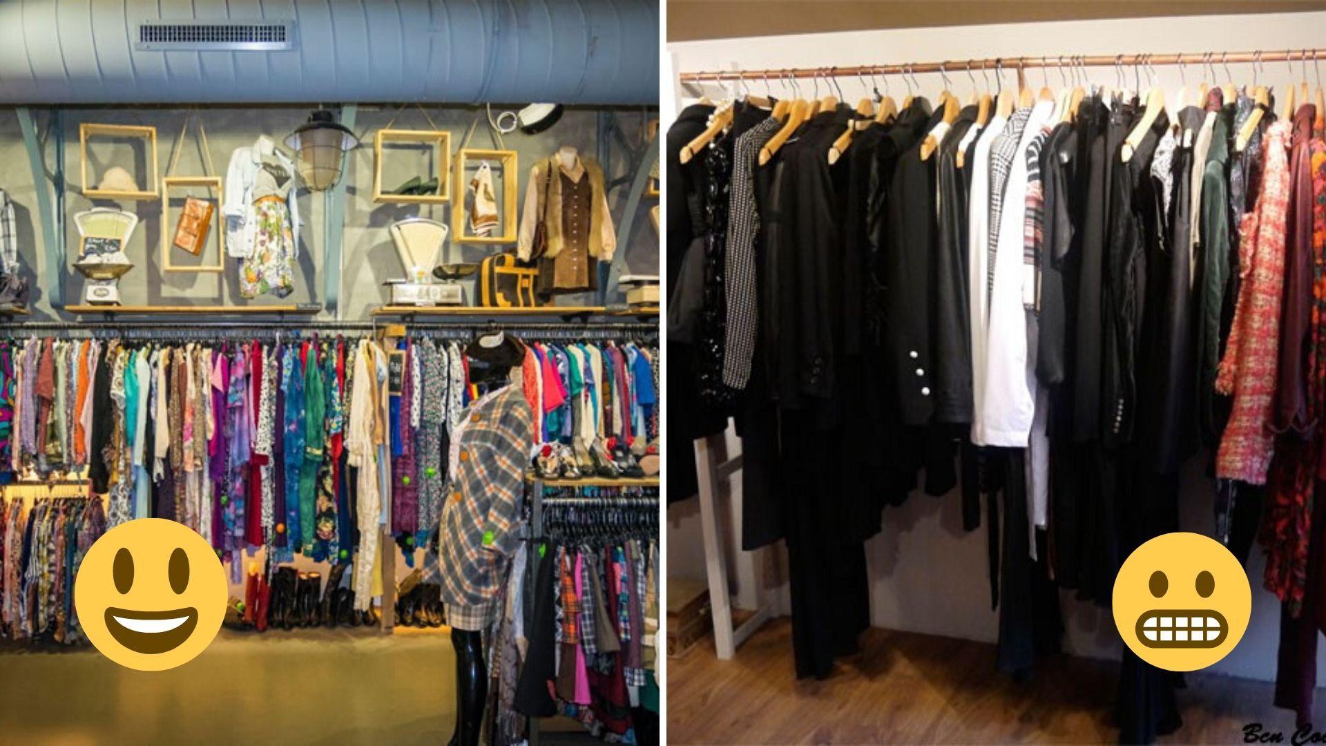 cómo montar una tienda de ropa usada
