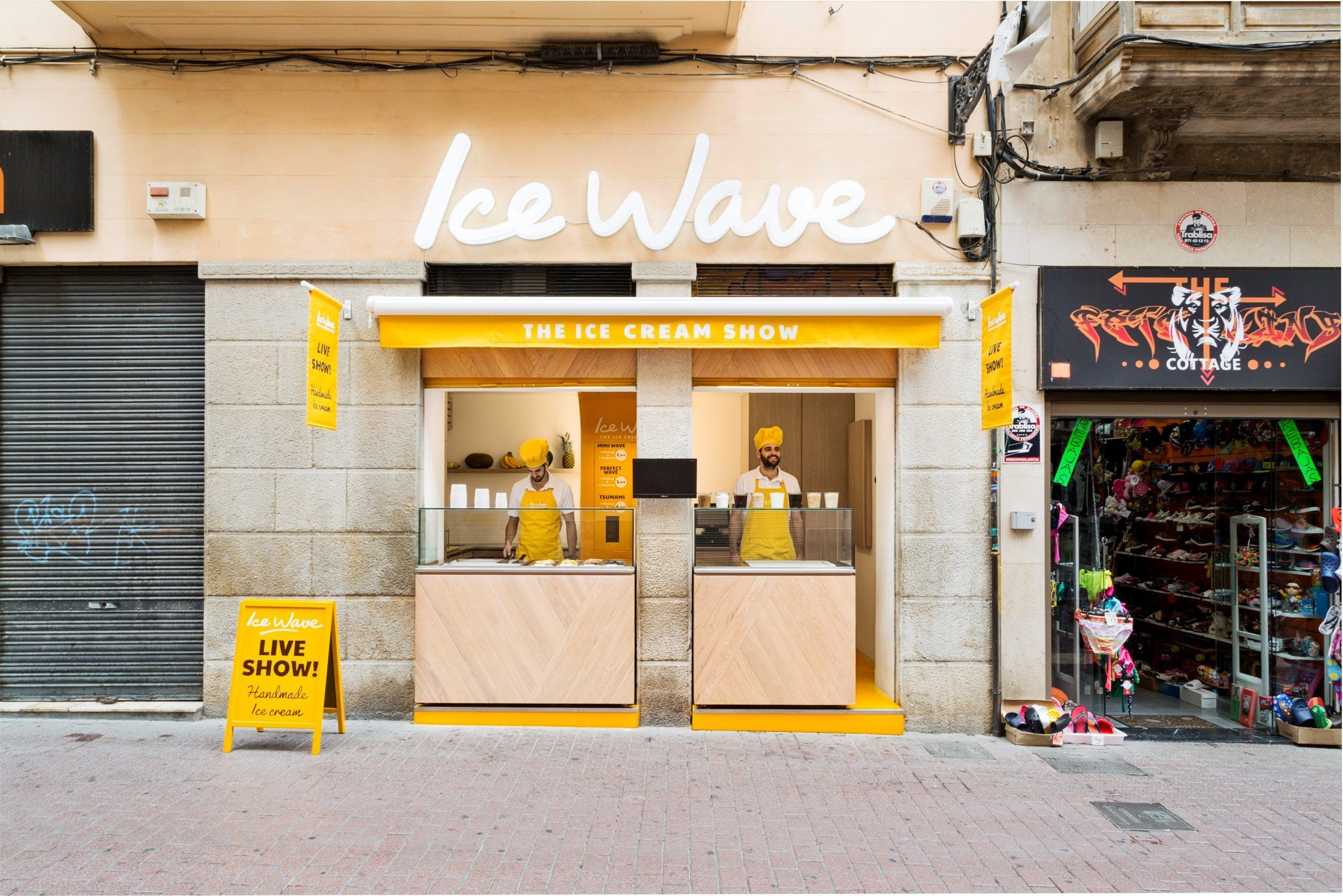 ice wave helados